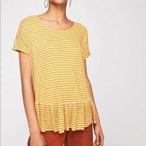 Free People Ginger Tee Size Size S NWT